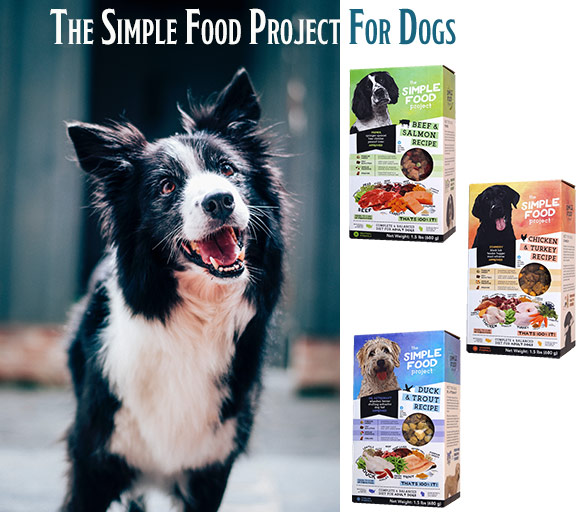 The Simple Food Project For Dogs